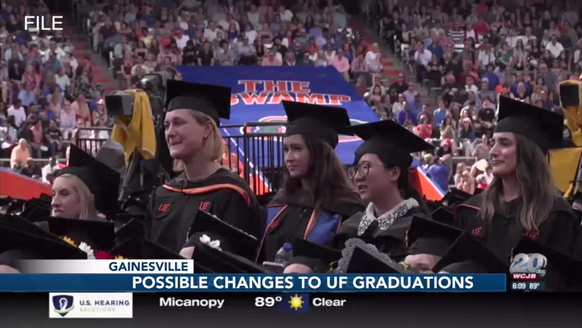 UF commencement task force releases possible graduation changes