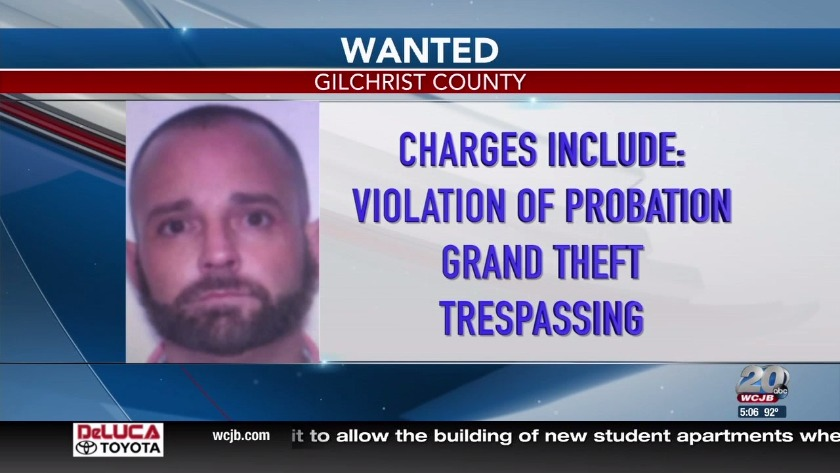 New photos released in search for Gilchrist County Fugitive