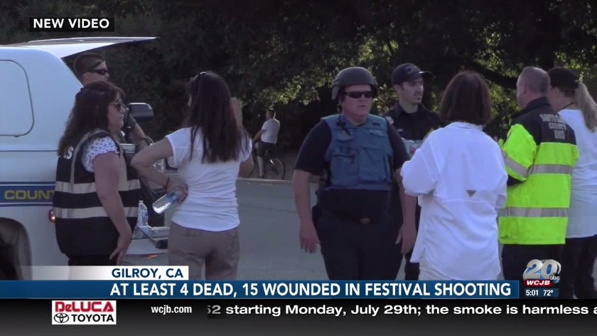At least four people dead in California after festival shooting