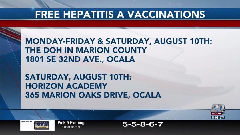 Health departments warns Ocala residents of Hepatitis A