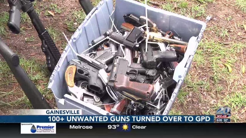 Successful gun buyback event held in Gainesville on Saturday