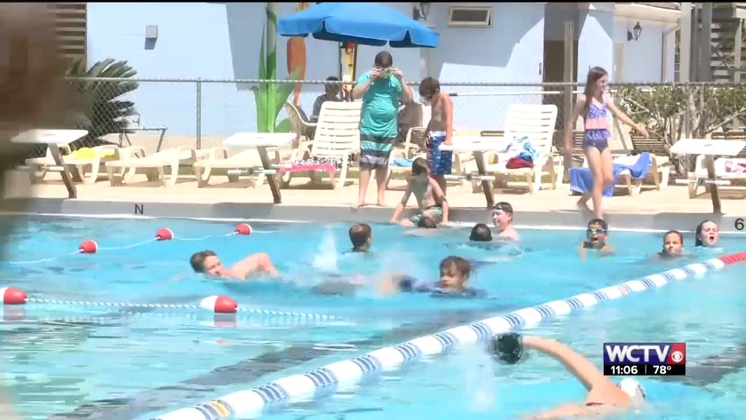 Thomasville community encourages swimming lessons after near
