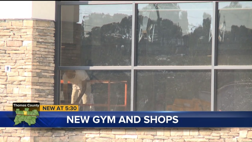 New Thomasville Planet Fitness Nears Completion