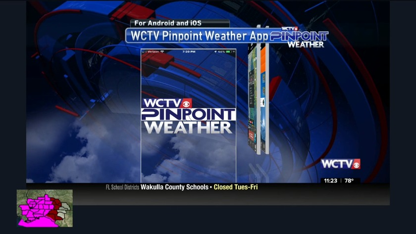 WCTV Pinpoint Weather App