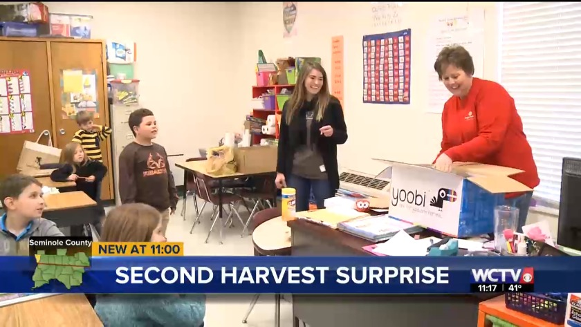 Seminole County Elementary gets surprise donation of supplies