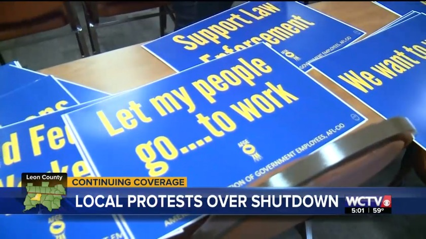 Protests held in Tallahassee to call on lawmakers to end