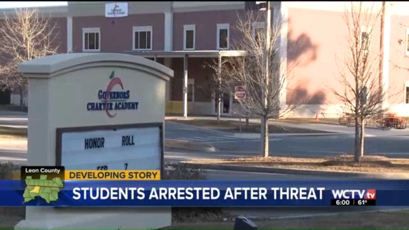 LCSO arrests two juveniles for threatening violence against