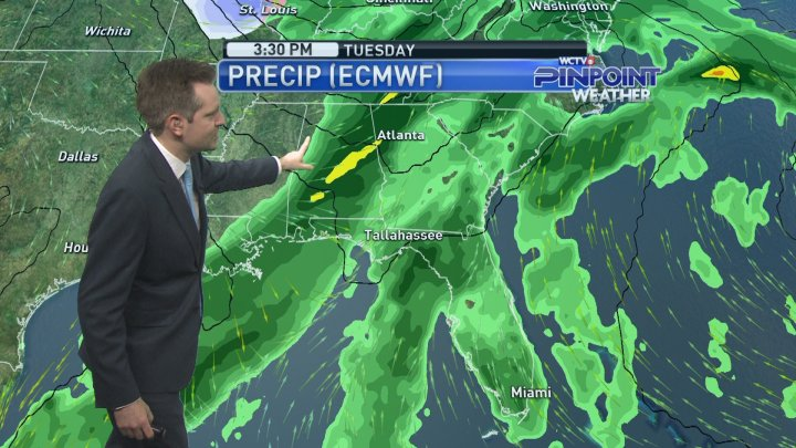 Pinpoint Weather Forecast - Saturday, Feb  9 - AM Update