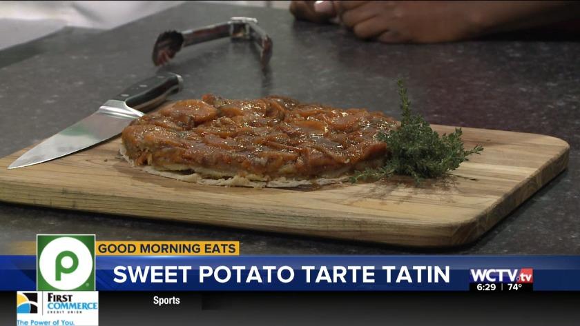 Spiced Sweet Potato Tarte Tatin