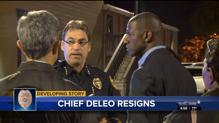 Tallahassee Police Chief DeLeo resigning