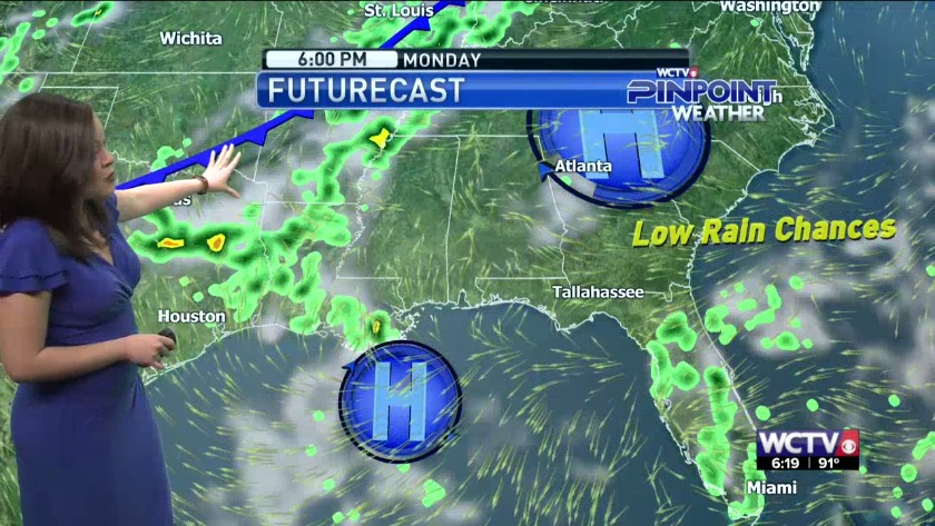 Rob's Monday Morning Weather: July 17, 2017