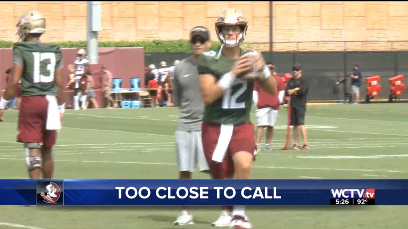 Taggart not yet ready to name official QB1