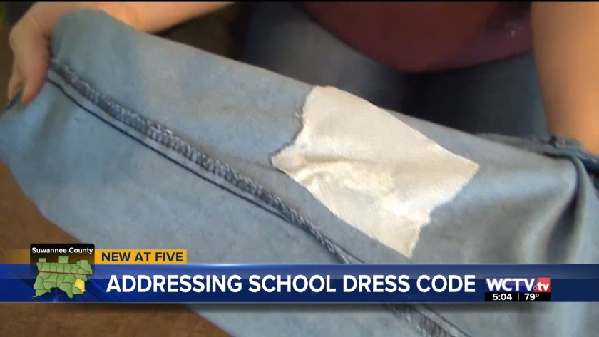 Mother voices dress code concerns with Suwannee County