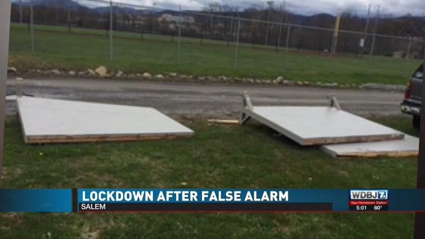 School Officials Salem School Lockdown Caused By Sound Of