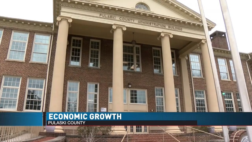 Economic growth in Pulaski County