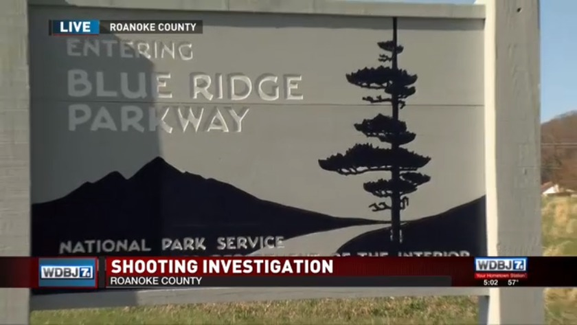 Man dies after shooting along Blue Ridge Parkway