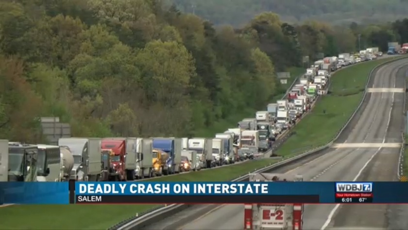 Deadly crash on I-81