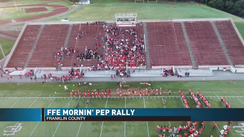 Ffe Mornin Pep Rally At Franklin County High School