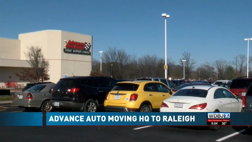 Advance Auto Parts To Move Its Headquarters From Roanoke To