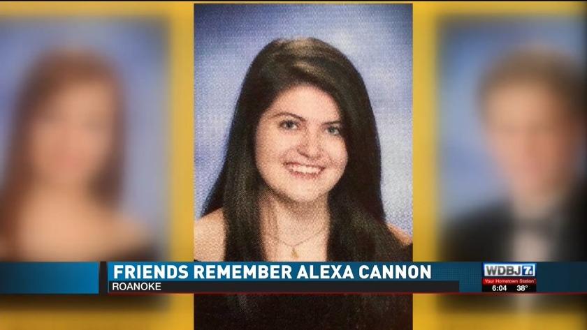 Friends remember Alexa Cannon