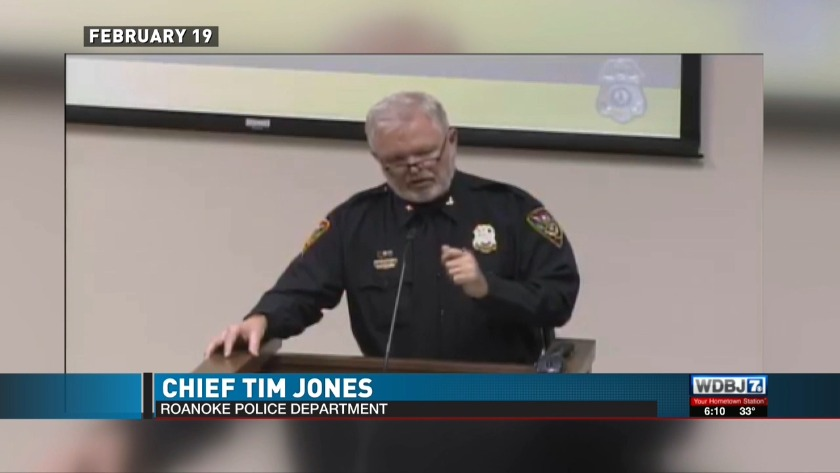 Roanoke Police chief facing scrutiny following comments