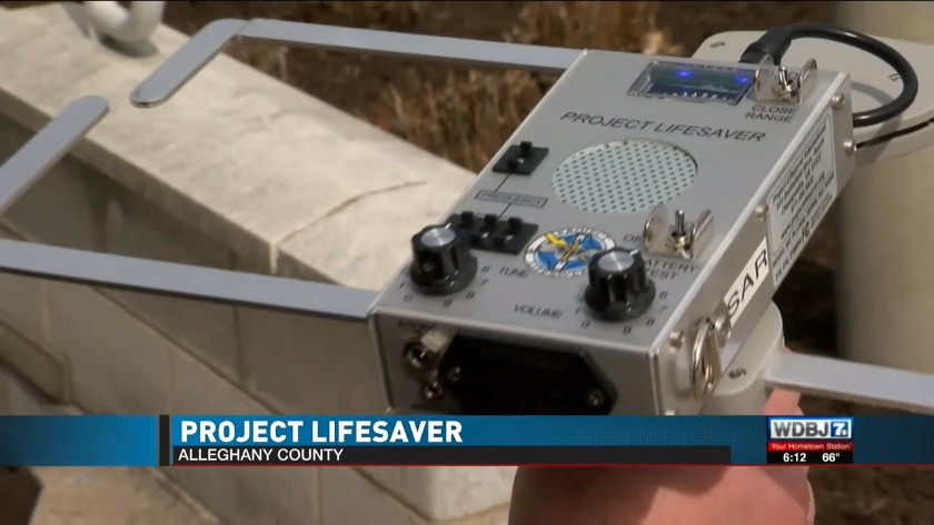 Project lifesaver helps people who may wander
