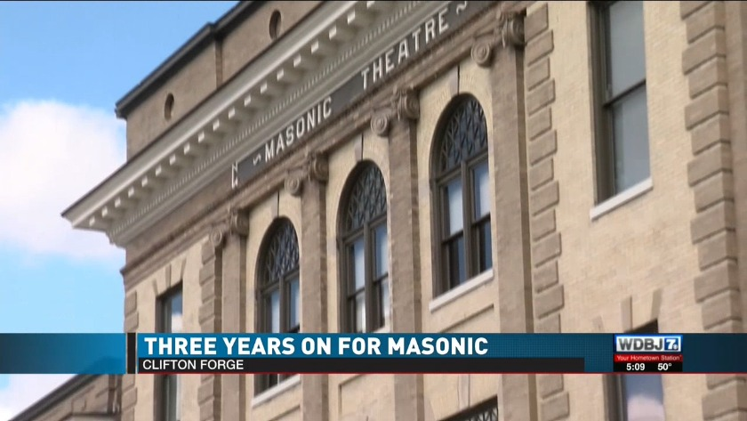 Three years on for Masonic