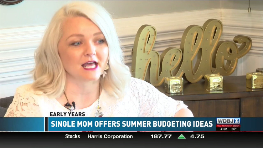 EARLY YEARS: Single mom of four offers tips for summer