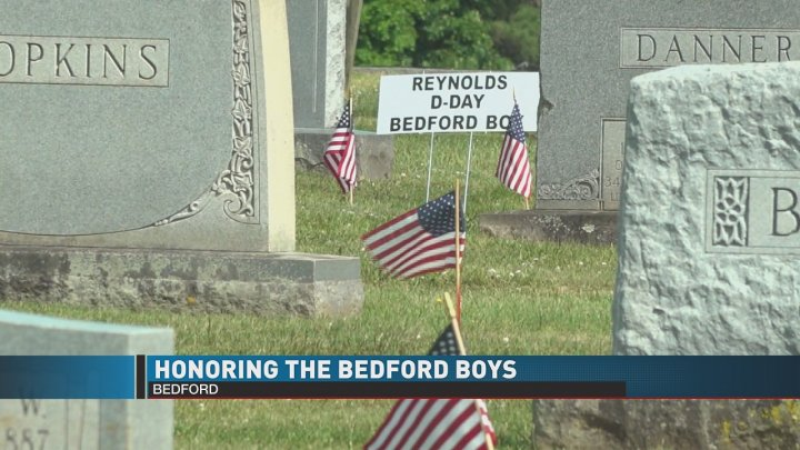 Honoring the Bedford Boys on Memorial Day