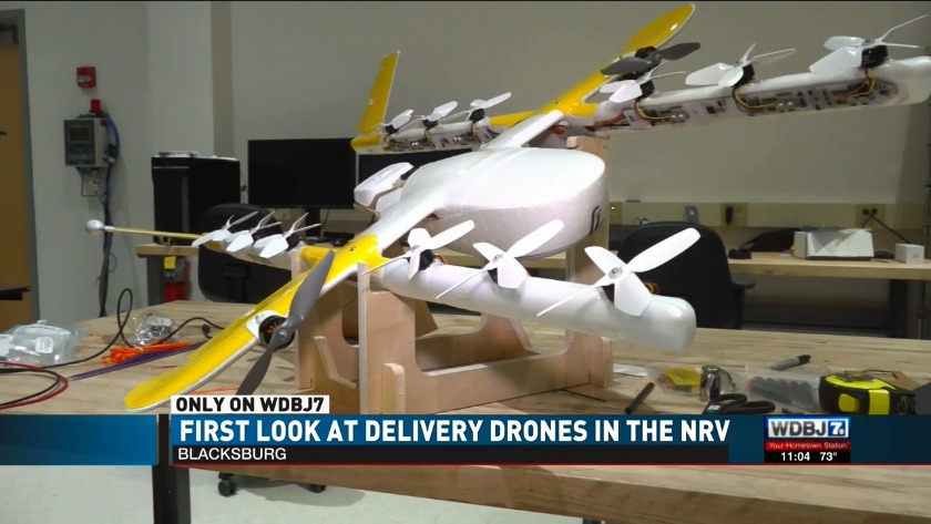 An exclusive, first look at delivery drones coming to
