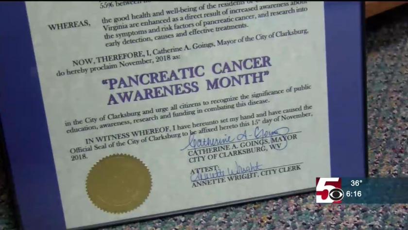 Annette Santilli: raising pancreatic cancer awareness in