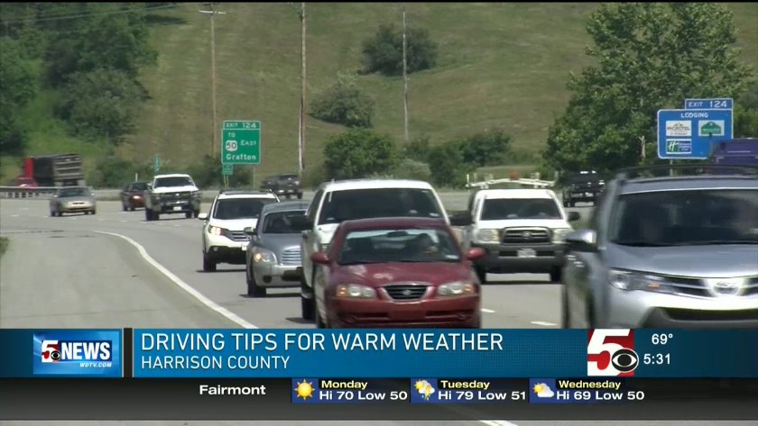 Driving tips for warmer weather