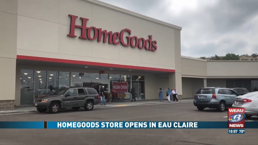 Homegoods Opens Eau Claire Location Sunday
