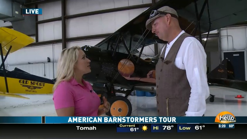 American Barnstormers Tour begins today!