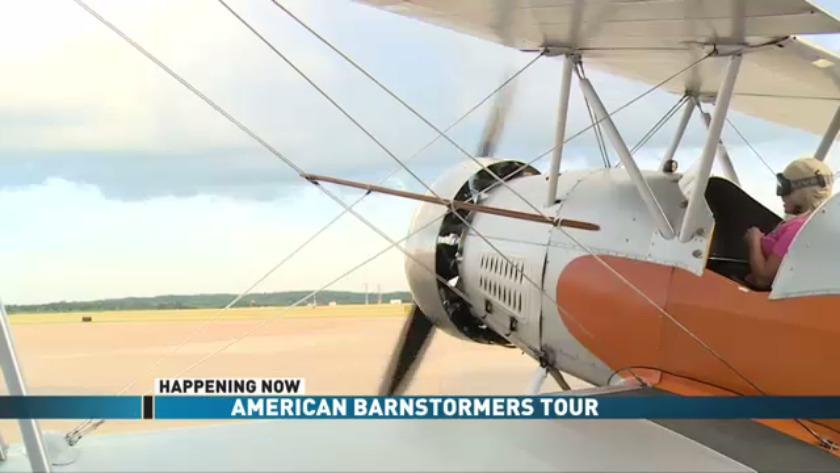 American Barnstormers Tour begins today!