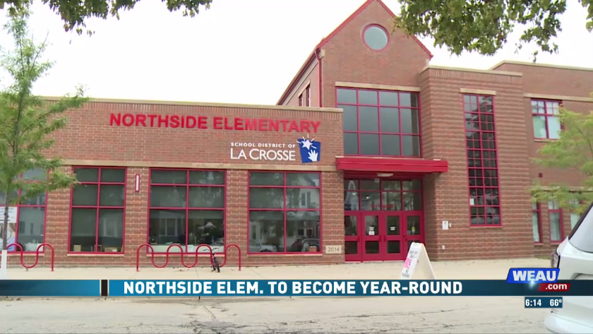 Northside Elementary in La Crosse switching to year-round