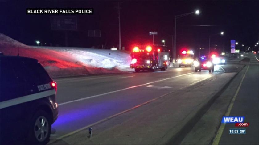 Fatal roll-over crash in Black River Falls