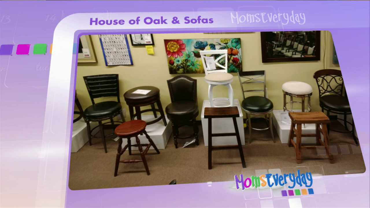 Marvelous House Of Oak And Sofa: Barstools Nice Look