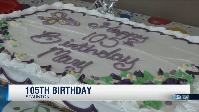 Staunton Woman Celebrates 105th Birthday