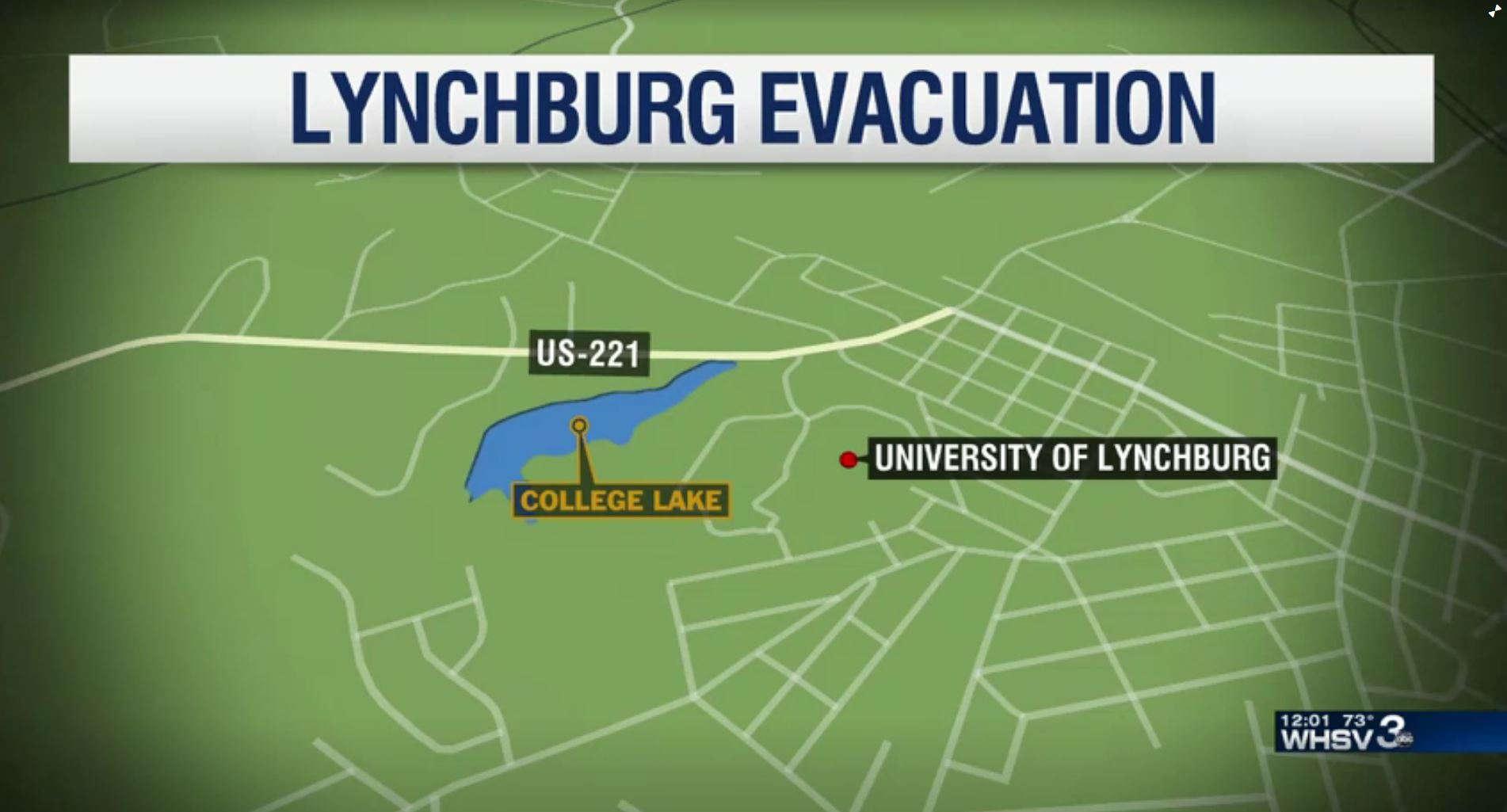 Officials say dam that led to Lynchburg evacuation is stable