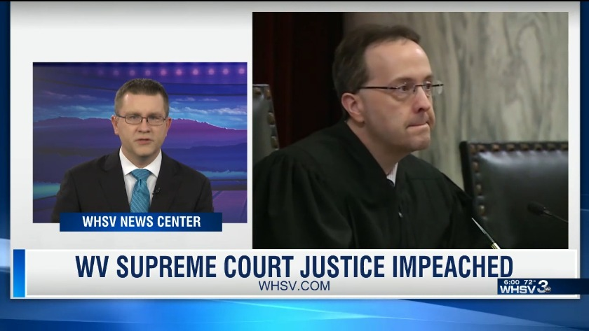 West Virginia House votes to impeach 3 Supreme Court justices