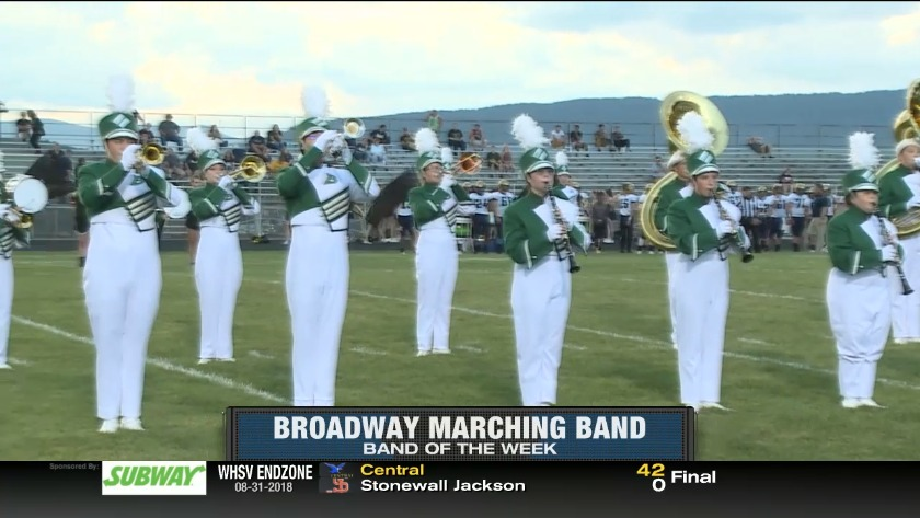 Band of The Week — WHSV Endzone 2018