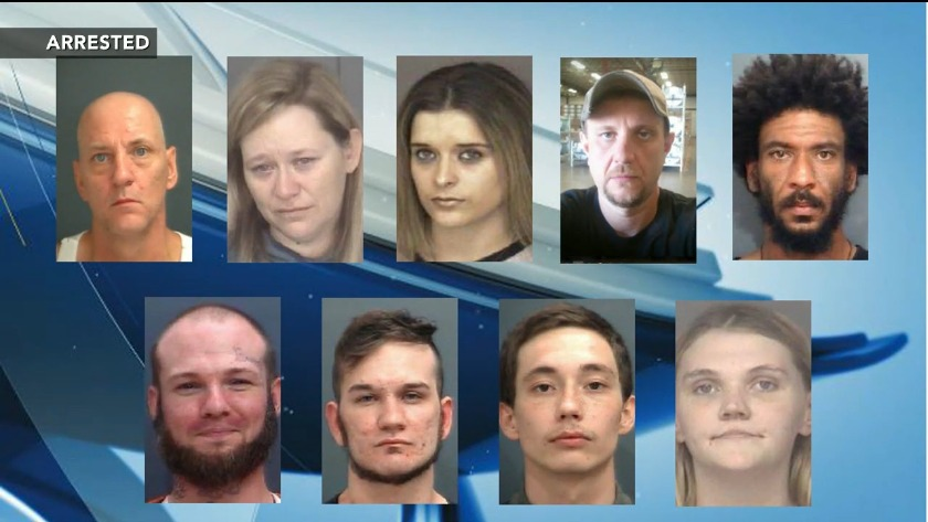 Police raid Waynesboro apartments, continuing massive meth