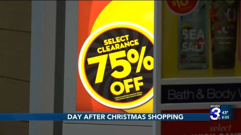 After Christmas Deals.Shoppers Head To The Stores For Day After Christmas Deals