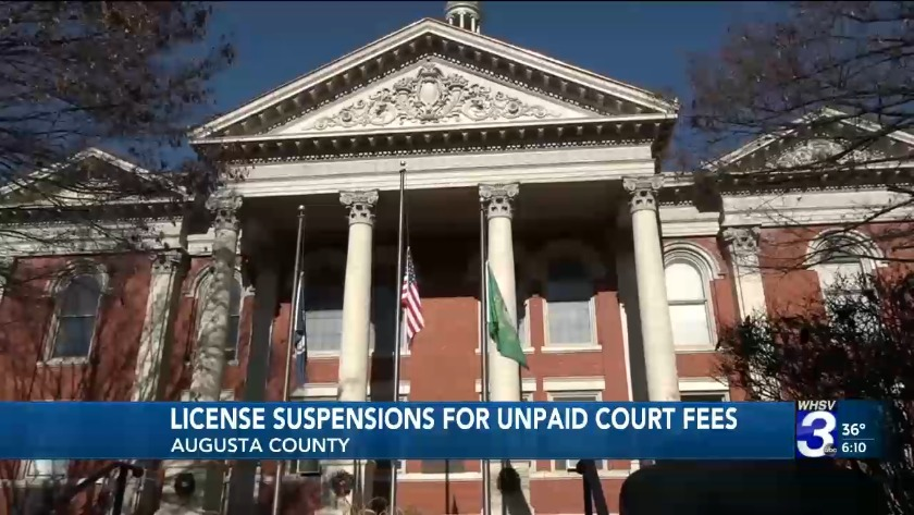 Judge grants injunction stopping driver's license suspensions for