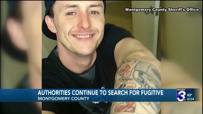 Authorities continue to search for fugitive