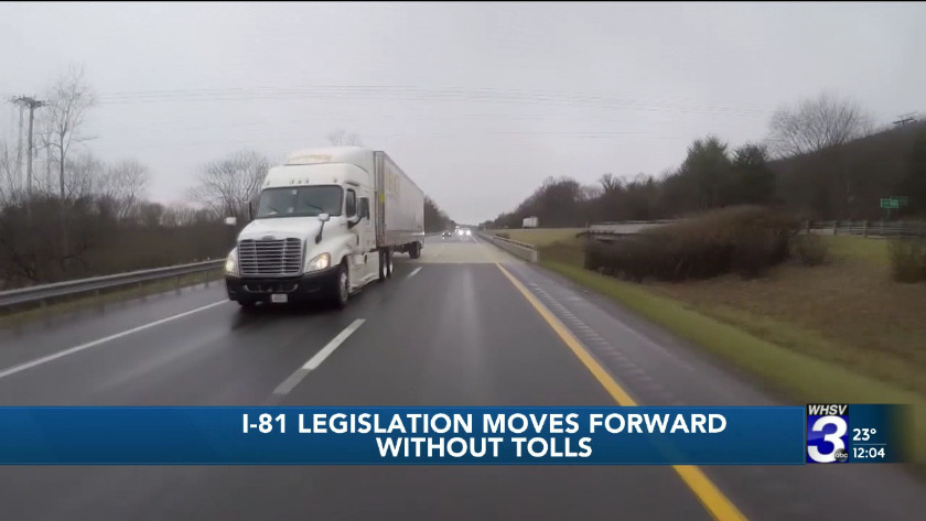 Police and DMV issue more than 150 warnings to truck drivers on I-81
