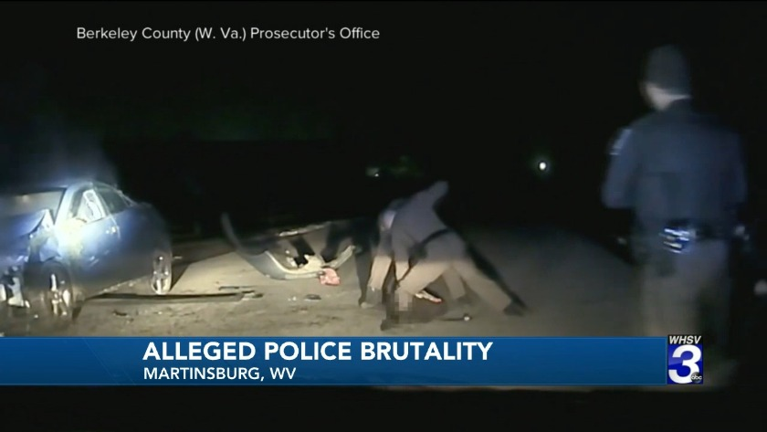 Video shows teen's beating during West Virginia traffic stop