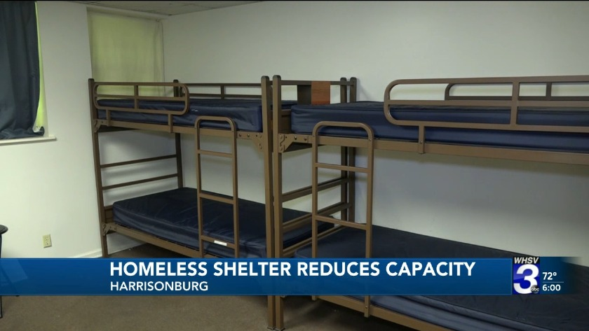 Fine Fewer Beds At Shelters For Homeless In Harrisonburg Complete Home Design Collection Barbaintelli Responsecom