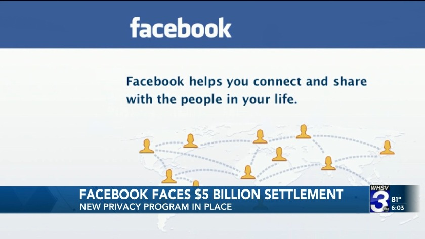 FTC fines Facebook $5 billion for privacy practices